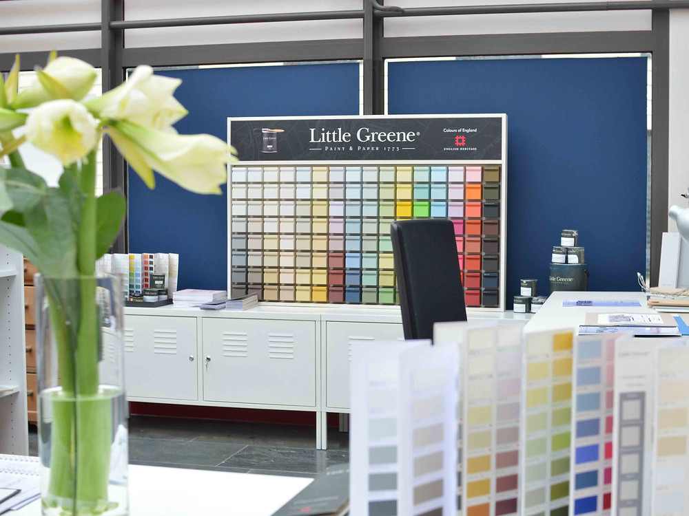 Showroom Little Greene im Aargau