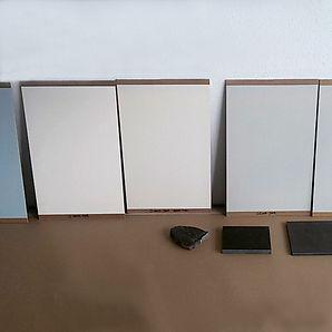 Farbmuster für Raumgestaltung Wohnung