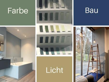 Konzepte für Farbe Licht und Bau