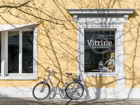 BT Artikel über Ateliergemeinschaft Vitrine