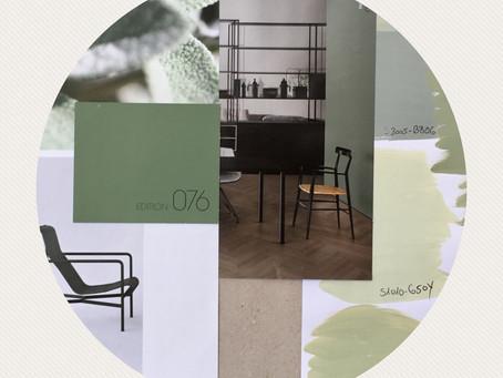 Moodboard Farbkonzept 5 Zi Wohnung