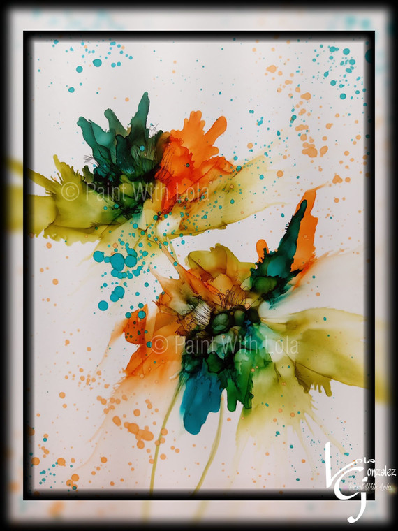 ABSTRACT FLOWER BEAUTY