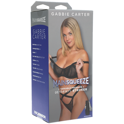 Main Squeeze - Gabbie Carter Pussy Masturbator