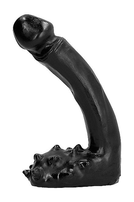 All Black 19cm Dildo (AB26)