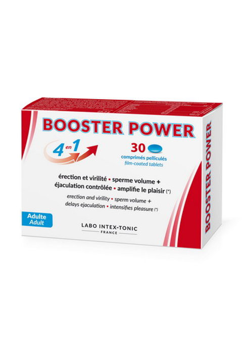 Booster Power - Erection & Virility Control (30 Tablets)