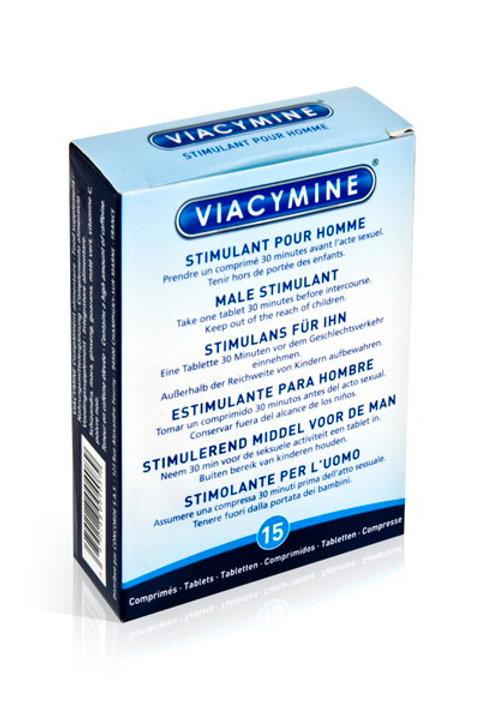 Viacymine - Male Stimulant Tablets For Men (15 Tablets)