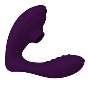 Clitoral Sucking G-Spot Vibrator (Dark Purple)