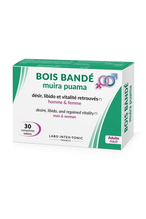 Bois Bande - Muira Puama (30 Tablets)