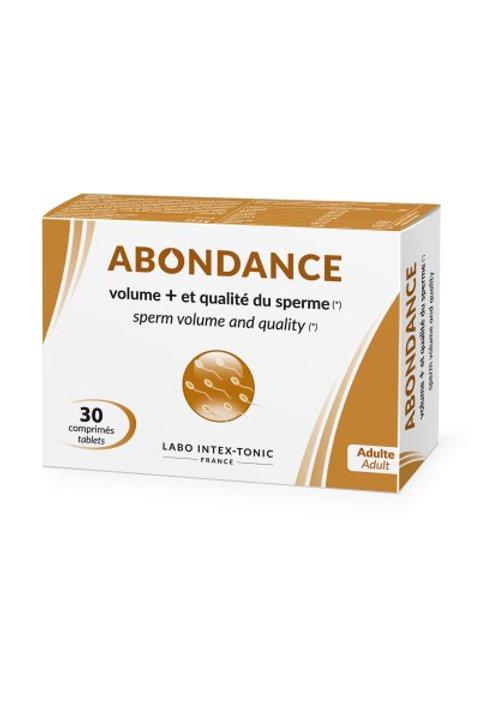 Abondance - Sperm Volume & Quality (30 Tablets)