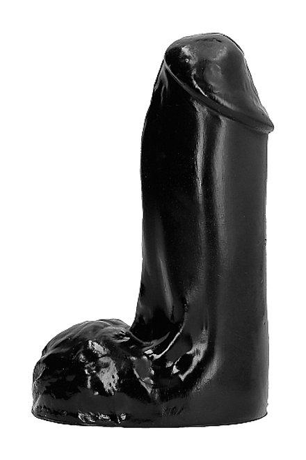 All Black 13cm Dildo (AB41)