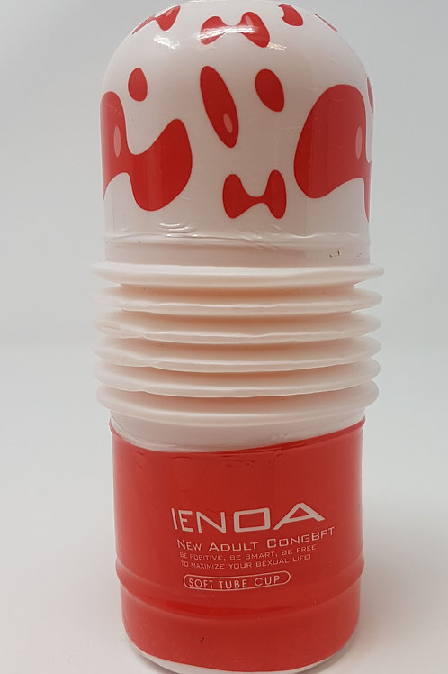 Rolling Head Cup Masturbator (Red/White)