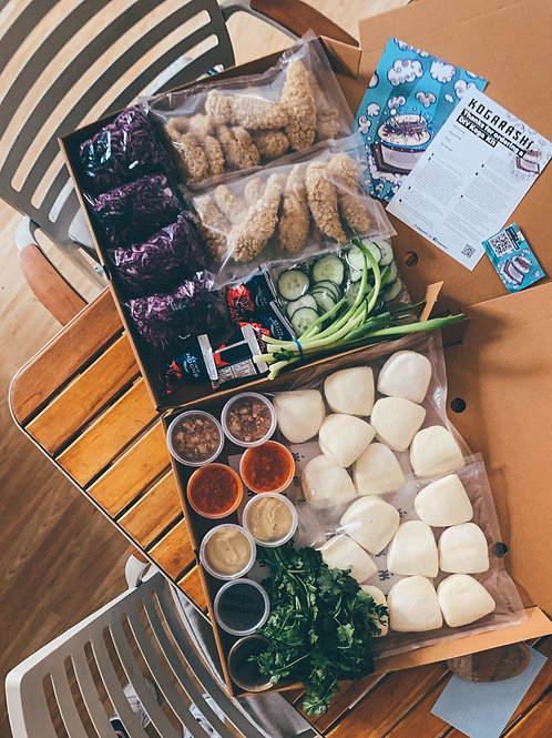 Chicken Bao Kit (16 bao's)