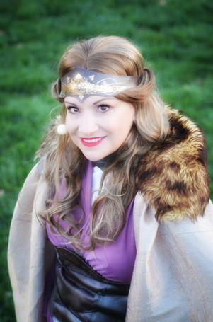 Barb Christensen as Hippolyta