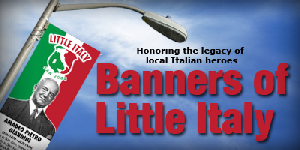 <image:Banners of Little Italy> <image:Little Italy San Jose> <image:AP Giannini Italian Museum>