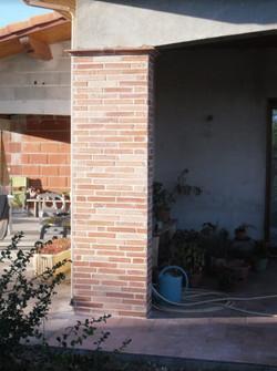 Rénovation parement brique