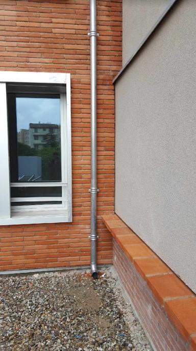 Zinguerie entourage fenêtre