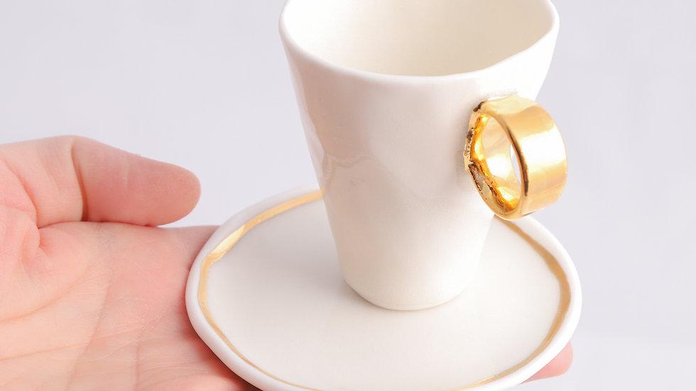 espresso złote uszko
