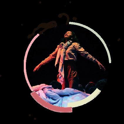 Espetáculo do Dirigível Coletivo de Teatro