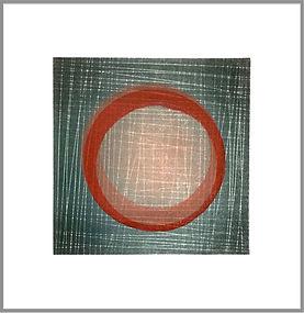LOSS - 2 block linocut print