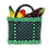 Thumbnail: The Mini Mercadita - Plastic Woven Basket Bag