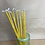 Thumbnail: 10 Beeswax Hand Dipped Holy Candles