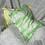 Thumbnail: Green Stripe - Travel Sized Kapok and Lavender Pillows (46x32cm)