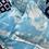Thumbnail: Sky Blue  - Travel Sized Kapok and Lavender Pillows (46x32cm)