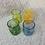 Thumbnail: Handblown Glass Tumbler - Yellow