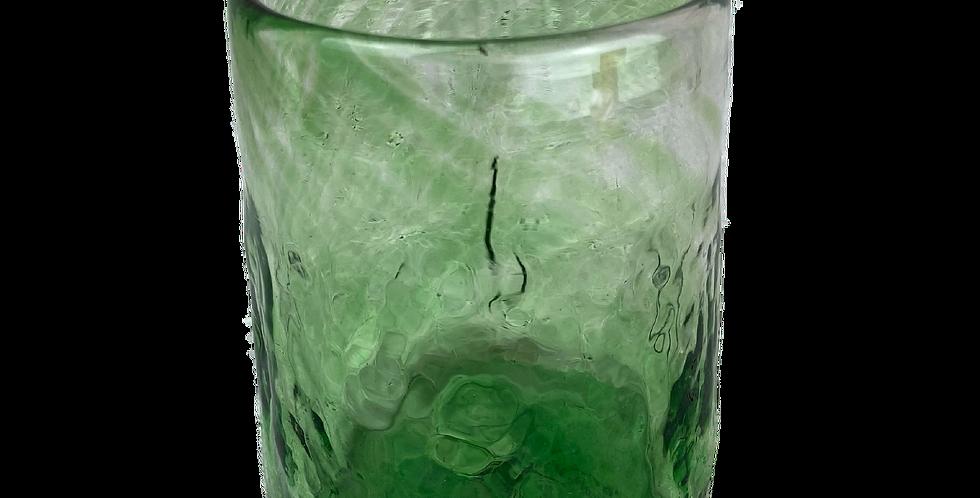 Handblown Glass Tumbler - Green