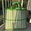 Thumbnail: Plastic Woven Basket Bag - Large