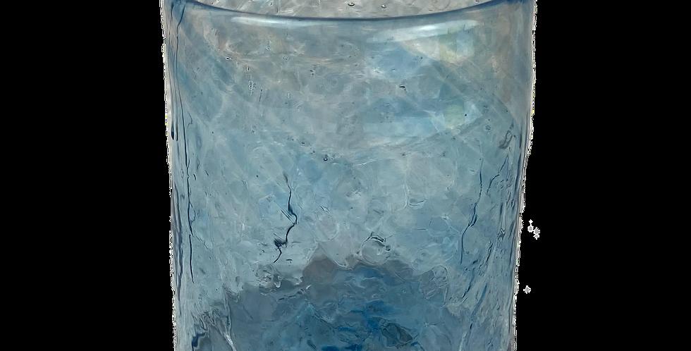 Handblown Glass Tumbler - Blue