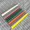 Thumbnail: Orange - Set of 6 100% Beeswax Spiral Candles