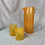Thumbnail: Handblown Glass Tumbler - Orange
