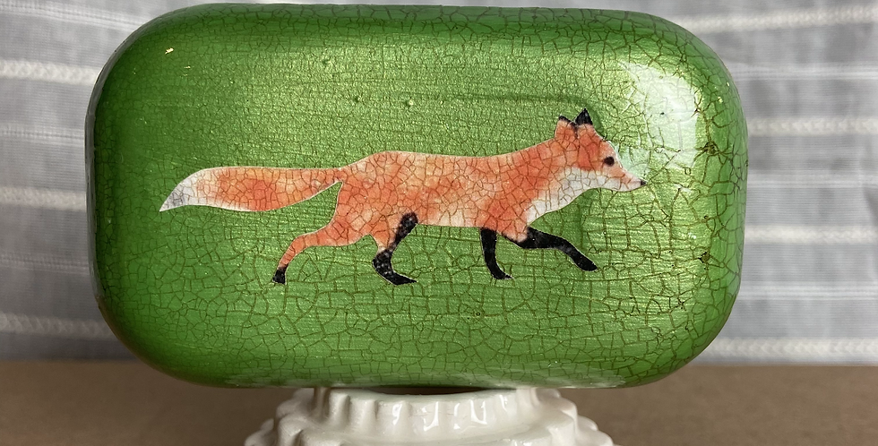 Decorative Hand Painted Soap