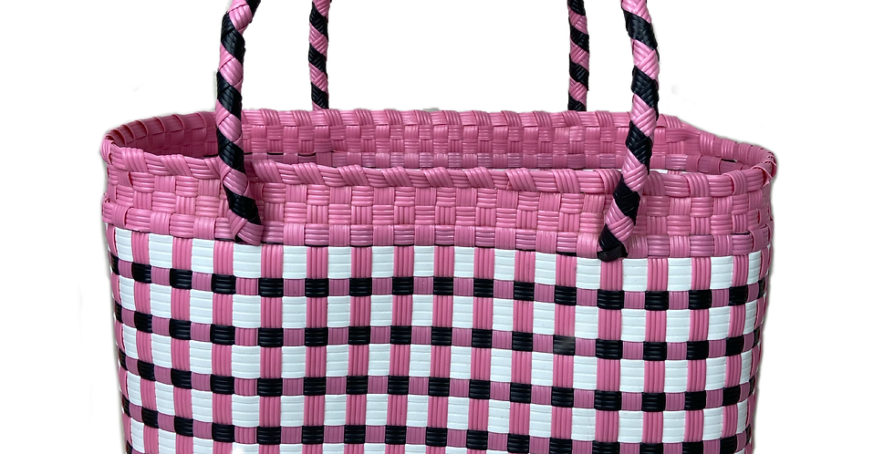 The Claud - Checked Woven Shopper