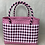 Thumbnail: The Claud - Checked Woven Shopper