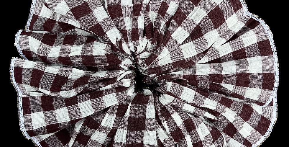 Brown Check 'Flower Squish' - RSx Good Squish