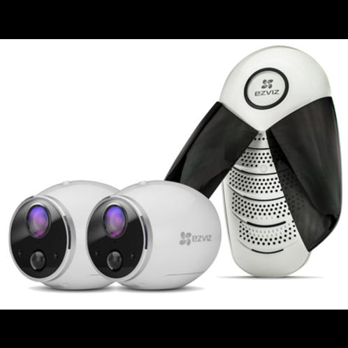 EZVIZ Mini Trooper (2 камеры+база)