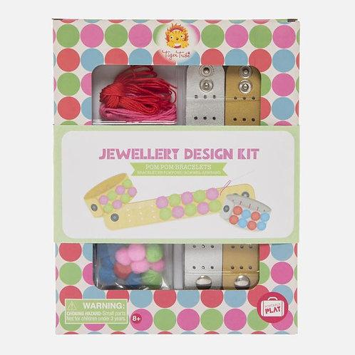 Jewellery Design Kit - Pom Pom Bracelet