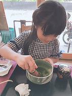 みうちゃん お茶.JPG