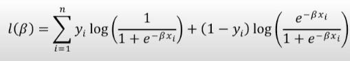 log of Likelihood equation -2