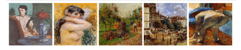 Images by Impressionist classifier dataset