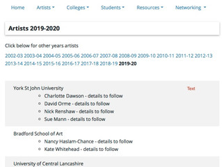 Starting AA2A = Artists Access to Art Colleges