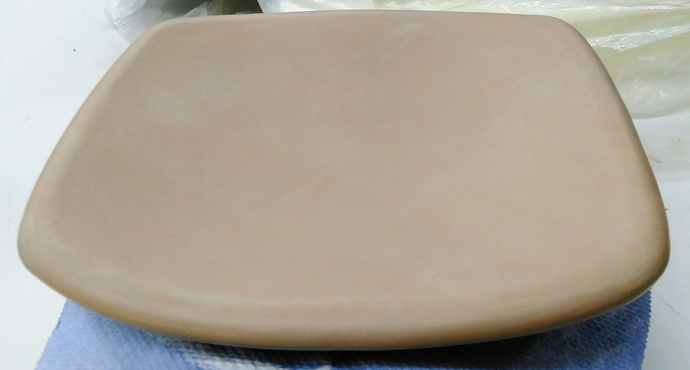 terra sig surface before polishing
