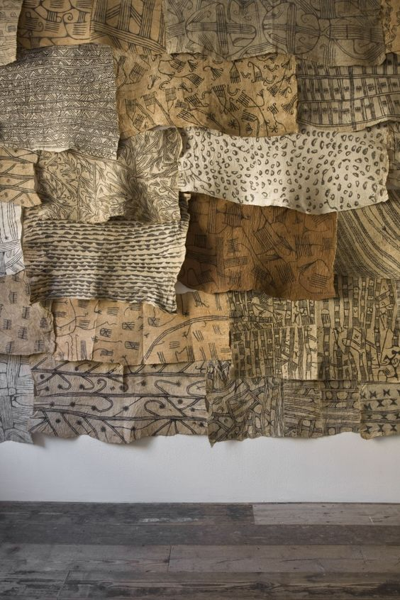 Selection of M'Buti bark cloths