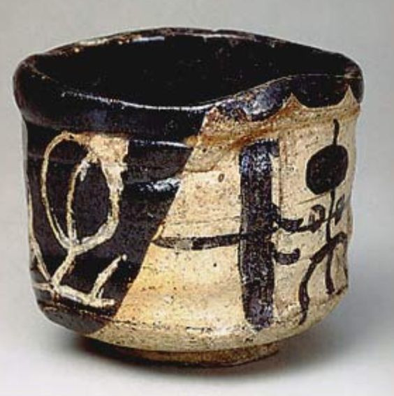 Kuro Oribe from 17th century