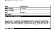 Version 3 of Learning Agreement
