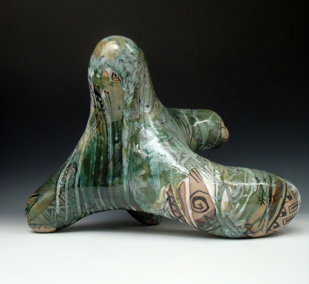 Large Oribe inspired figure