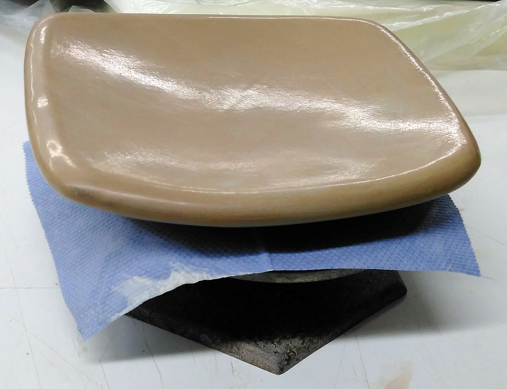 polished surface