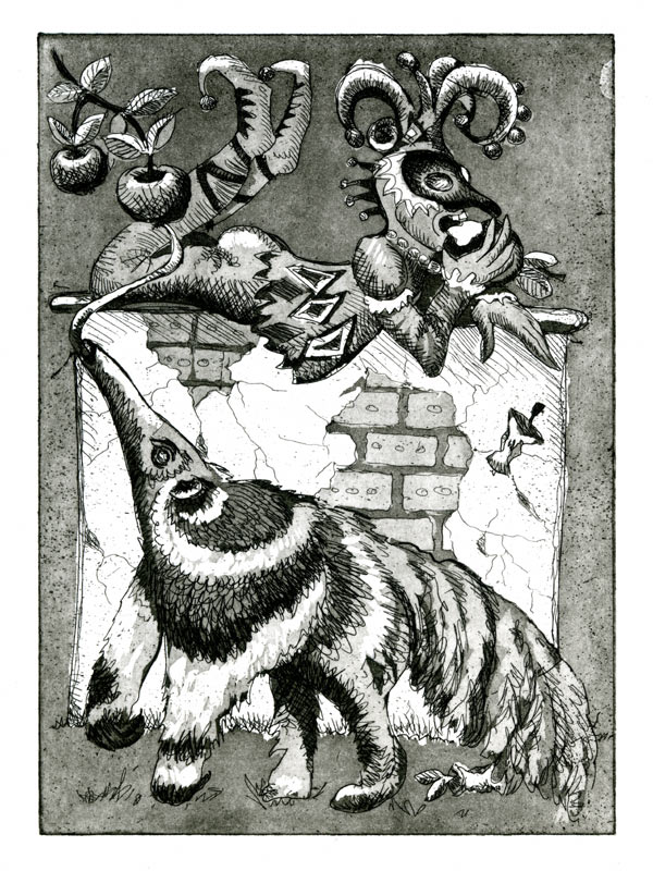 Anteater And Fool